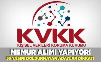 KVKK memur alımı yapıyor! 35 yaşını doldurmayan adaylar dikkat!
