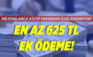 Milyonlarca emekliyi yakından ilgilendiriyor! 625 TL ek ödeme!