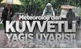 Son dakika hava durumu uyarısı! Kuvvetli sağanak yağış geliyor! Meteoroloji özellikle 6 ili uyardı!