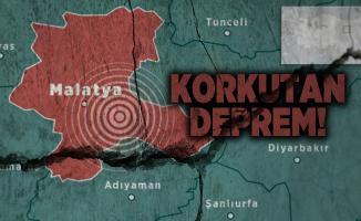 Son dakika Kandilli şiddeti ve merkezi açıkladı! Malatya'da peş peşe korkutan deprem!