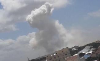 Son dakika Somali'de büyük patlama! Çok sayıda ölü ve yaralı var