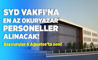 Sosyal Yardımlaşma ve Dayanışma Vakfı'na en az okuryazar personeller alınacak! Başvurular 6 Ağustos'ta sona eriyor!
