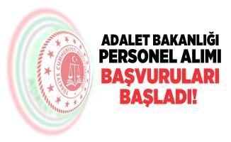 Adalet Bakanlığı personel alımı başvuruları başladı! Başvuru detayları belli oldu