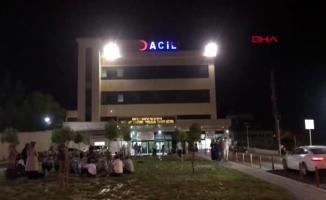Diyarbakır Sur ilçesinde araç şarampole devrildi! Kazada kişi 12 yaralandı