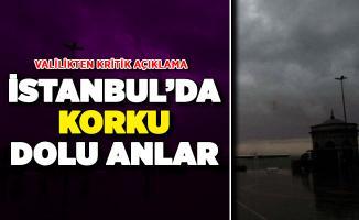 İstanbul'da Sağanak Yağış Devam Ediyor ! İstanbul Valiliğinden Kritik Açıklama Geldi