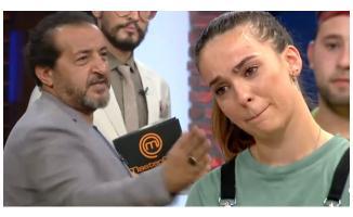 Jürinin sözleri yarışmacıyı ağlattı!