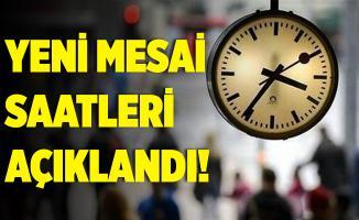 Milyonlarca kişi bekliyordu! İstanbul'da yeni mesai saatleri açıklandı!
