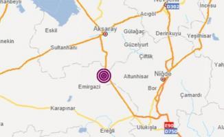Niğde'de 5.1 büyüklüğünde deprem meydana geldi!