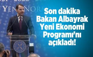 Son dakika Bakan Albayrak Yeni Ekonomi Programı'nı açıkladı!