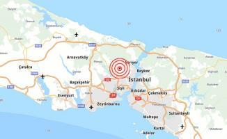 Son dakika İstanbul'da korkutan deprem sonrasında yeni deprem! İstanbul'un merkezinde deprem!