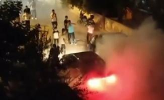 Yasağa rağmen asker eğlencesi yaptılar! Üstüne  tepki gösterenlere saldırdılar!