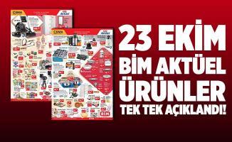 23 Ekim BİM aktüel ürünler kataloğu! Bu indirimler bomba! Bu hafta indirimli satılacak ürünler tek tek açıklandı!