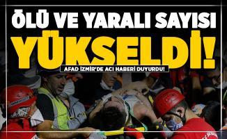 AFAD acı haberi duyurdu! İzmir'de ölü ve yaralı sayısı yükseldi