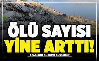 AFAD İzmir depremindeki son durumu açıkladı! Gelen haberler kötü (Ölü sayısı yine arttı)