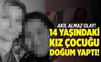 Akıl almaz olay! Muğla'da 14 yaşındaki kız çocuğu doğum yaptı!