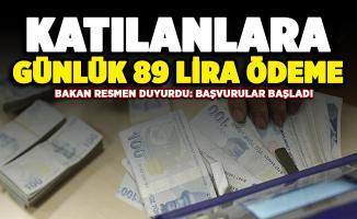 Çalışma Bakanı Selçuk resmen duyurdu! Başvurular başladı: Katılanlara günlük 89 lira veriliyor