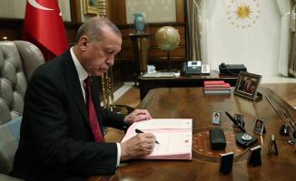 Cumhurbaşkanı Erdoğan resmen onayladı! Resmi Gazete'de Cumhurbaşkanı kararları yayımlandı!