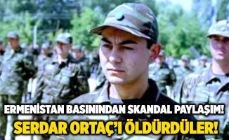 """Ermenistan basınından skandal paylaşım! """"Azeri askerleri öldürdük"""" haberinde Serdar Ortaç'ın fotoğrafını kullandılar!"""