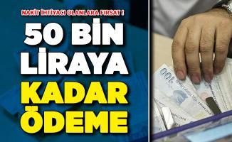 Halkbank'tan Nakit İhtiyacı Olanlara Önemli Fırsat ! 50 Bin Liraya Kadar Nakit Verilecek