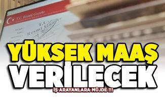 İş arayanlara Resmi Gazete'de müjde! Yüksek maaş verilecek
