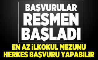 İstanbul SYDV çalışacak en az ilkokul mezunu personel arıyor! Başvurular başladı
