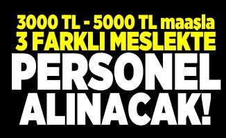 İZELMAN 3000 TL - 5000 TL maaşla 3 farklı meslekte personel alacak!