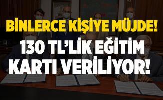 İzmir Büyükşehir Belediyesi'nden öğrencilere müjde! 130 TL eğitim kartı verilecek!