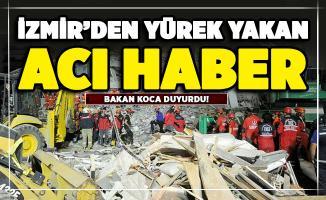 İzmir'den son dakika yürek yakan acı haber! Bakan Koca duyurdu