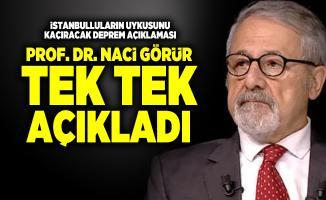 Prof. Dr. Naci Görür'den İstanbulluların uykularını kaçırtacak deprem açıklaması!