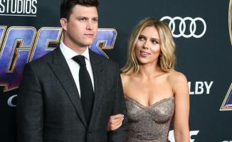 Scarlett Johansson ve Komedyen Colin Jost evlendi!