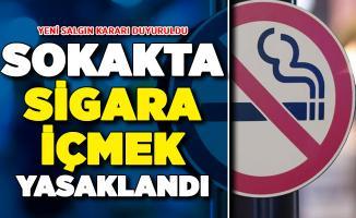Valilik Resmi Kararını Duyurdu: Sokakta Sigara İçilmesi Yasaklandı