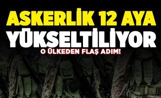 Yunanistan duyurdu: Askerlik 12 aya çıkarılıyor