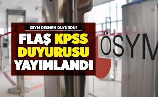 2020 KPSS ön lisans branş bazında sıralamalar yayımlandı