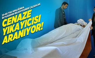 20-60 yaş aralığında Büyükşehir Belediyesinde çalışacak Cenaze Yıkayıcısı aranıyor!