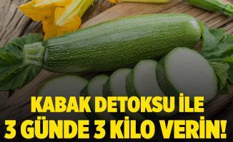 3 günde 3 kilo verdiren kabak detoksu nasıl yapılır?