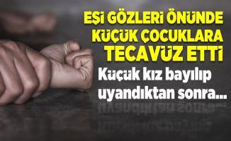 Eşinin küçük çocuklara tecavüz ettiğini açıklayan kadının söyledikleri kan dondurdu! Küçük kız bayılıp uyandıktan sonra...
