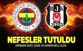 Fenerbahçe-Beşiktaş maçı saat kaçta? Fenerbahçe-Beşiktaş maçı hangi kanalda?