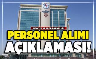 Gençlik ve Spor Bakanlığı 2000 personel alımı açıklaması Bakan Kasapoğlu'ndan geldi