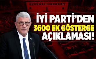 İYİ Parti'den 3600 Ek Gösterge açıklaması!