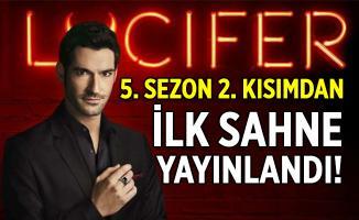 Lucifer 5. sezon 2. kısım ilk sahne yayınlandı! Lucifer ortalarda yok!