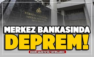 Merkez Bankasında deprem! Murat Uysal görevden alındı: Yerine Naci Ağbal Atandı