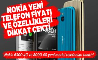 Nokia 6300 4G ve 8000 4G yeni model telefonları tanıttı! Nokia yeni telefon fiyatı ve özellikleri dikkat çekti