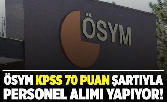 ÖSYM KPSS 70 puan şartı ile personel alım yapıyor! Başvurular 1 Aralık tarihinde sona eriyor!