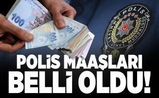 Polis maaşları ne kadar? 2020 Yeni başlayan polis maaşı ne kadar oldu?
