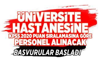 Tokat Gaziosmanpaşa Üniversitesi 58 Hemşire, Diyetisyen ve Diğer sağlık personeli alımı yapacak!
