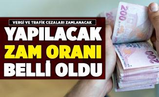 Vergi ve trafik cezalarına yapılacak olan zam oranı belli oldu!