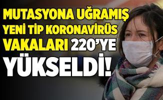Yeni tip koronavirüste vakalar artıyor! 220 kişi salgına yakalandı!