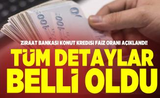 Ziraat Bankası konut kredisi faiz oranı! Ziraat Bankası 100 bin TL 180 Ay kredi taksit oranı ne kadar?