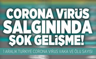Corona virüs salgınında şok gelişme! 1 Aralık Türkiye corona virüs vaka ve ölü sayısı