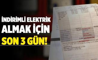 İndirimli elektrik faturası ödemek için başvurular 5 Aralık'ta sona eriyor!